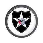 2nd Infantry Wall Clock