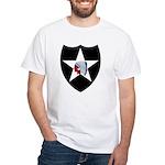 2nd Infantry White T-Shirt