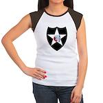 2nd Infantry Women's Cap Sleeve T-Shirt