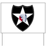 2nd Infantry Yard Sign