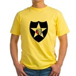 2nd Infantry Yellow T-Shirt
