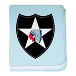 2nd Infantry baby blanket