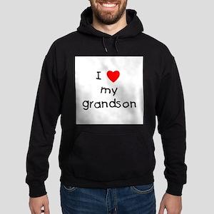 I love my grandson Sweatshirt