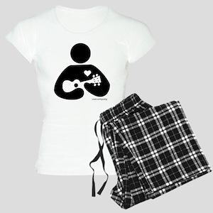 Ukulele Love Women's Light Pajamas