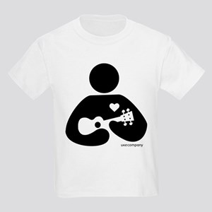 Ukulele Love Kids Light T-Shirt
