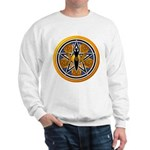 Gold-Blue Goddess Pentacle Sweatshirt