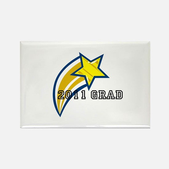 """2011 Grad"" Rectangle Magnet (100 pack)"