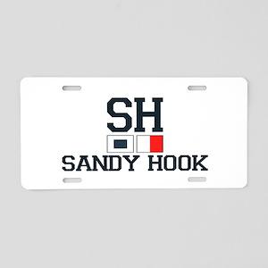 Sandy Hook - Nautical Flags Design Aluminum Licens