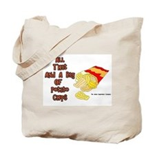 All That and a Bag of Chips Tote Bag