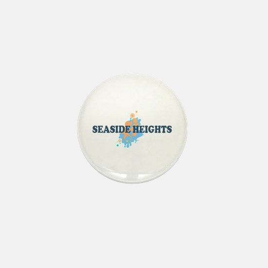 Sandy Hook NJ - Seashells Design Mini Button