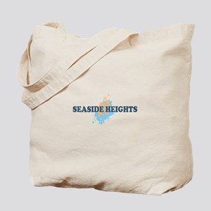 Sandy Hook NJ - Seashells Design Tote Bag