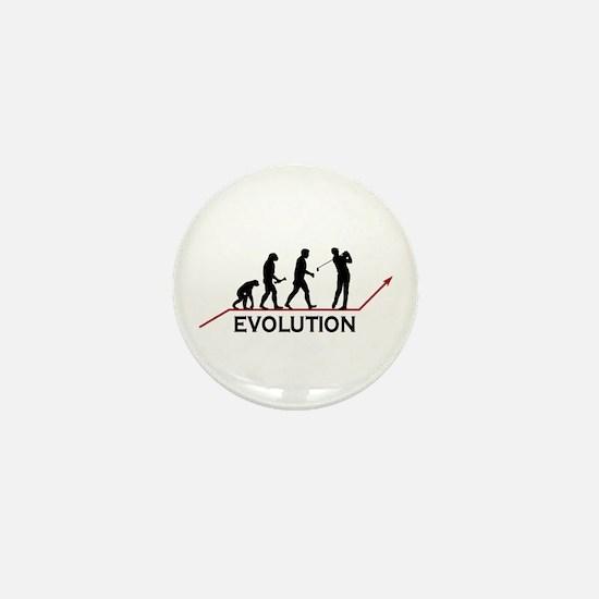 Golf Evolution Mini Button