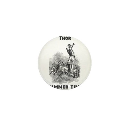 Thor, Hammer Time Mini Button (10 pack)