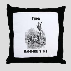 Thor, Hammer Time Throw Pillow
