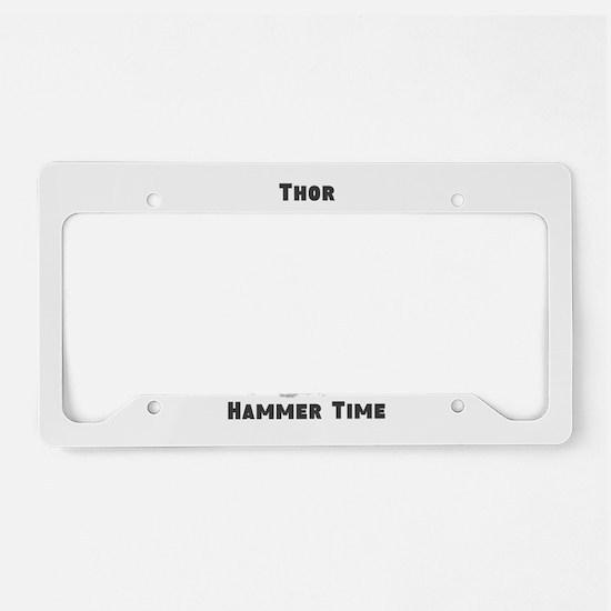 Thor, Hammer Time License Plate Holder