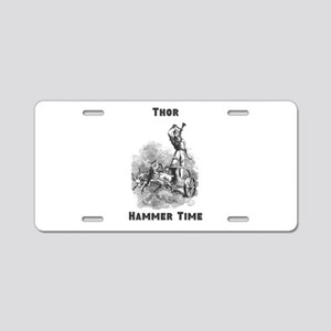 Thor, Hammer Time Aluminum License Plate