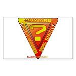 Caution Sticker (Rectangle 50 pk)