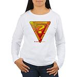 Caution Women's Long Sleeve T-Shirt