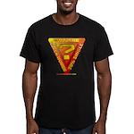 Caution Men's Fitted T-Shirt (dark)