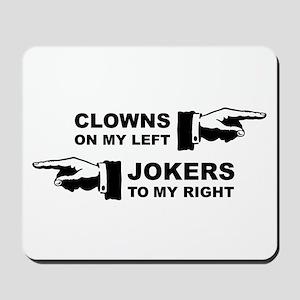 Clowns & Jokers Mousepad
