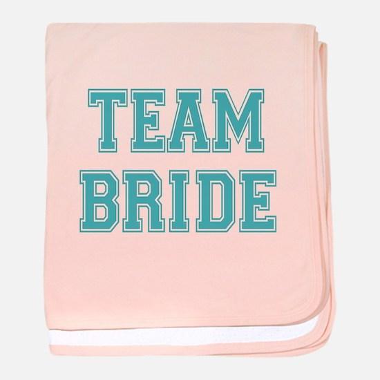 Team Bride baby blanket
