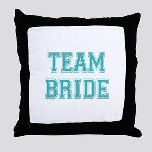 Team Bride Throw Pillow