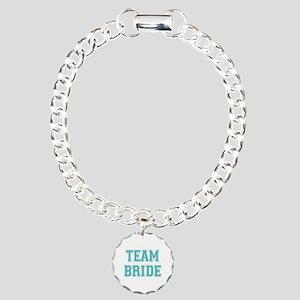 Team Bride Charm Bracelet, One Charm