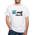 I Live For Estate Sales White T-Shirt