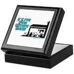 I Live For Estate Sales Keepsake Box