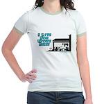 I Live For Estate Sales Jr. Ringer T-Shirt