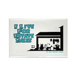 I Live For Estate Sales Rectangle Magnet (100 pack