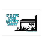 I Live For Estate Sales Postcards (Package of 8)