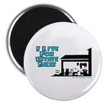 I Live For Estate Sales Magnet