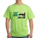 I Live For Estate Sales Green T-Shirt