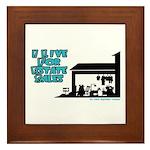I Live For Estate Sales Framed Tile