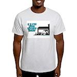 I Live For Estate Sales Ash Grey T-Shirt