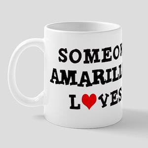 Someone in Amarillo Mug