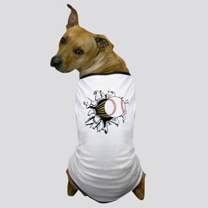 Baseball Burster Dog T-Shirt