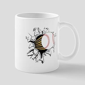 Baseball Burster Mug