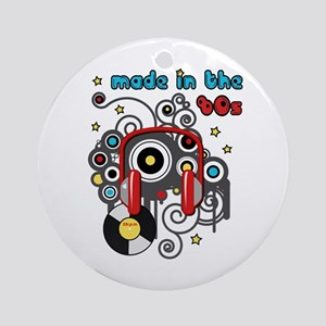 Made in the 80's Ornament (Round)