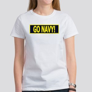 GONAVY1White T-Shirt