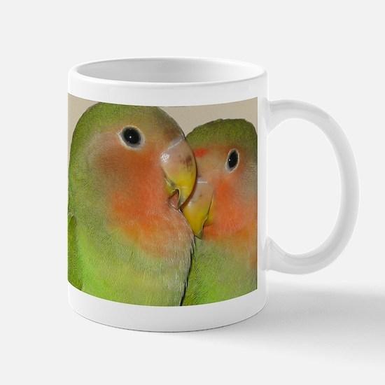 Cute Lovebirds Mug