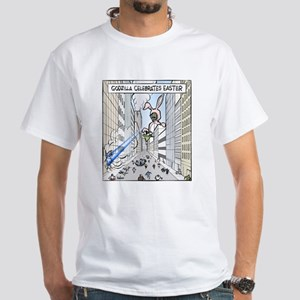 The Easter Lizard White T-Shirt