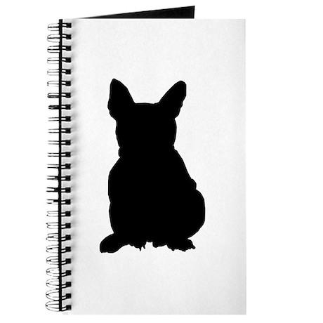 French Bulldog Silhouette Journal