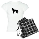 Labrador Retriever Silhouette Women's Light Pajama