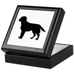 Labrador Retriever Silhouette Keepsake Box
