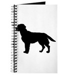 Labrador Retriever Silhouette Journal