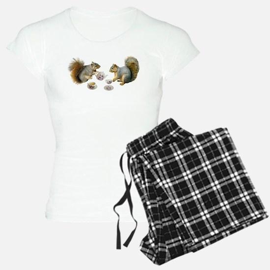 Squirrels Tea Party Pajamas
