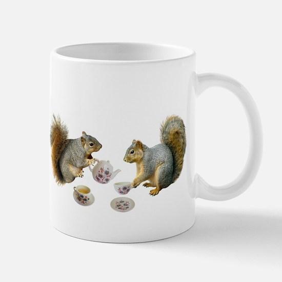 Squirrels Tea Party Mug