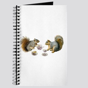 Squirrels Tea Party Journal